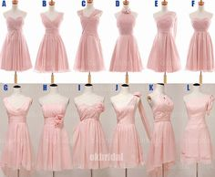 Blush pink bridesmaid dress cheap bridesmaid dress by sposadress, Blush Pink Bridesmaid Dresses, Wedding Bridesmaids, Wedding Attire, Wedding Gowns, Nice Dresses, Prom Dresses, Gorgeous Wedding Dress, Dream Wedding, Pink Dress
