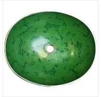 Emerald Green Leaves sink by Linkasink Bar Sink, Sink In, Love Your Home, Undermount Sink, Go Green, Green Leaves, Decorative Bowls, Emerald Green, Fun Stuff