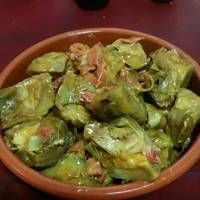 Alcachofas a la cerveza (Thermomix) Nut Recipes, Sweet Recipes, Cooking Recipes, Healthy Recipes, Spanish Dishes, English Food, Tapas, Food To Make, Side Dishes