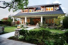 "See ""Craftsman"" architecture photos. Images of Craftsman Architecture, La Canada. James V. Coane and Associates, Architects. Pasadena, Ca."