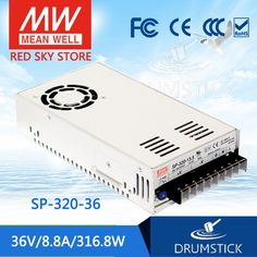 53.56$  Buy now - http://aliwls.shopchina.info/go.php?t=32771420658 - Genuine MEAN WELL SP-320-36 36V 8.8A meanwell SP-320 36V 316.8W Single Output with PFC Function Power Supply 53.56$ #SHOPPING
