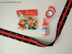 Brâu cu pompoane pentru copii 1 Decembrie, Personalized Items