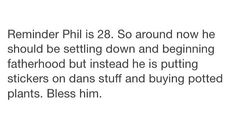 We need more Phils on this planet>>>Many more