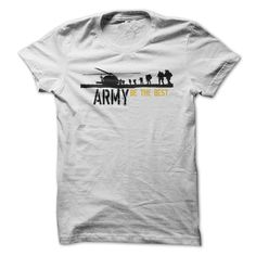 (Tshirt Top Gift) ARMY BE THE BEST Free Ship Hoodies Tee Shirts