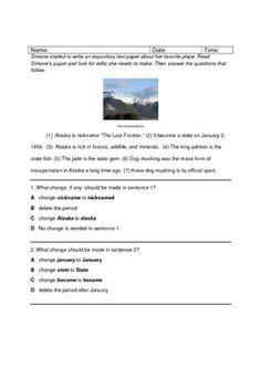 7th grade expository writing prompts