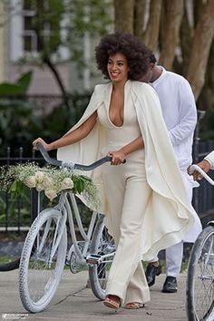 Solange wedding day