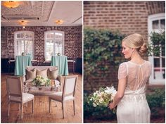 Historic Rice Mill Building wedding with art deco theme - see more at http://fabyoubliss.com