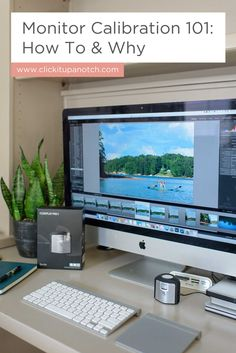 "I think calibrating my monitor is so intimidating, but she makes it look so easy! Read - ""Monitor Calibration 101: How To & Why"""