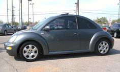 Example of Platinum Gray paint on a 2002 Volkswagen Beetle