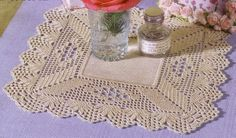 crochet em revista: esquema crochet toalhas