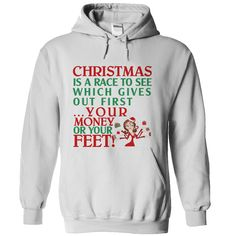 #Funnytshirts... Cool T-shirts  Price :$39.00Purchase Now    Low cost Codes   View photographs & photographs of Christmas race money or your feet t-shirts & hoodies:In case you do not completely love our design, you'll be able to SEARCH your favourite one throu...