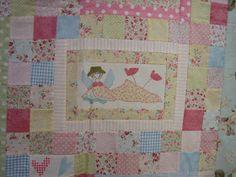Susanpatch: Angel story quilt TERMINADO Hatch Patch, Anni Downs, Angel Stories, Patches, Angels, Quilts, Blanket, Dolls, Patterns