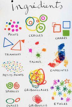 Vocabulari per als petits pintors | tot nens