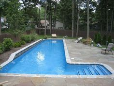 This Will Be In My Backyard I Can Do Lap Swimming And It