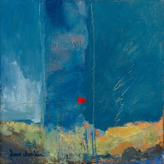 Where ART Lives Gallery Artists Group Blog: 'remembering the storm' abstract landscape painting by new mexico artist dawn chandler