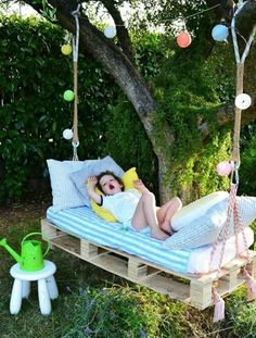 there are a lot of ideas on designing furniture with pallets pallets are very usable if you have a creative mind pallet swings can be made very easily and - Garden Ideas Using Wooden Pallets