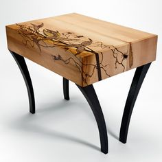 Stool by Carl Johnson | Have you ever tried woodburning as an artform? | That Creative Feeling by Dina