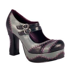 IDK why, but the stitching reminds me of Sally from Nightmare Before Christmas.  I love these.  =o)