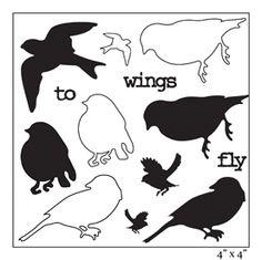 Najlepsze Obrazy Na Tablicy Szablony Ptaki 231 Little Birds
