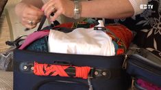 Organiser sa valise pour un  voyage Organiser, Suitcase, Tv, Organization, Travel, Television Set, Briefcase, Television