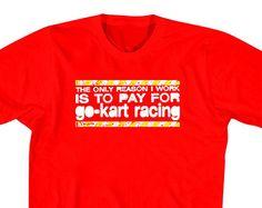 go kart racing t shirts - Google Search