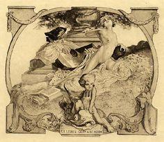 Franz von Bayros: Exlibris 10