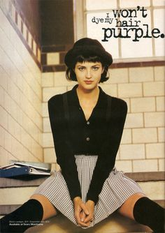 I hear the fall style this season is headed back to the 90's oh how I loved the 90's