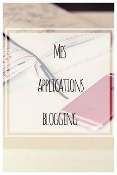 Mes applications blogging