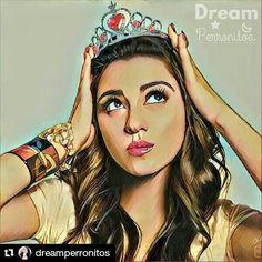 #Repost @dreamperronitos with @repostapp  (@maitepb) #MaitePerroni #Perronitos #Mai #LupitaFernandez #AdictaAMaite #Love #ArtDigital #Dream #DreamPerronitos
