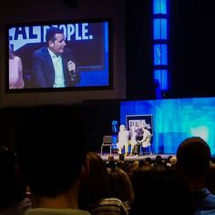 New believers who #trusted that Christ was #resurrected shared #tedstimony and were #baptizted. Plus Ted Cruz was there. #Churchted