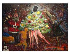 §§§ : Dancing Ballerina Christmas Tree : Alejandro Colunga