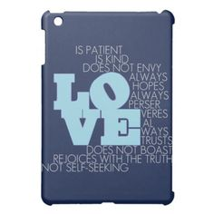 Love Never Fails - iPad Case Cute Ipad Cases, Ipad Mini Cases, Ipad Accessories, Love Never Fails, Holiday Sales, Christian Inspiration, Personalized Gifts, Great Gifts, Iphone