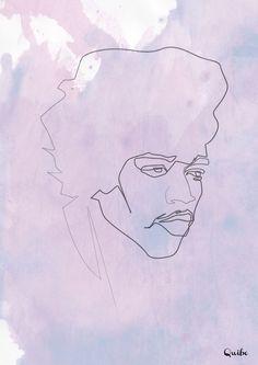 Quibe - One Line Jimi Hendrix