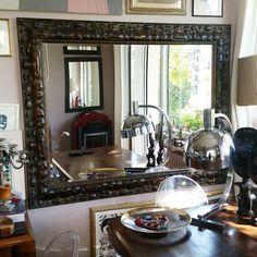 lo specchio #enorme come quello di #casamia è rientrato al negozio! chi era interessato passi a vederlo! #simplytop  #simplybeautiful #specchispaziolibero