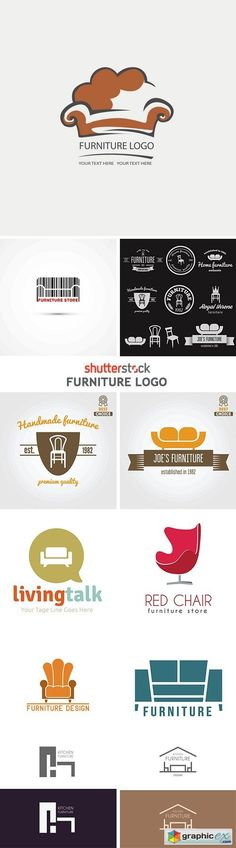 Furniture Logo - 25xEPS