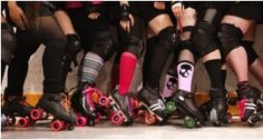 The most bookish and puniest literary roller derby names on the track. Are you a Hermione Danger or a Malice Walker?