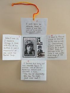 Bookmaking Projects. Fun idea for a research project, biography, book report, etc.