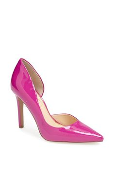These hot pink pumps will stop traffic!