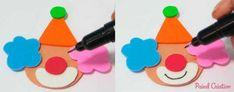 Como fazer Cone de Guloseimas Circo – Molde  