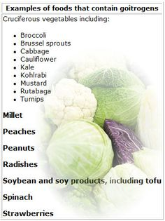 goitrogens are mostly found in