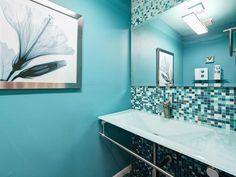 Cool Bathroom Designs --> http://www.hgtv.com/designers-portfolio/room/contemporary/bathrooms/9607/index.html#/id-9603/room-bathrooms?soc=pinterest