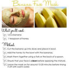 DIY Banana Face Mask