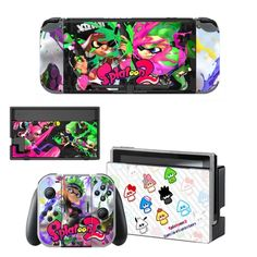 Nintendoswitch Stickers Splatoon 2 Switch Skin Nintend Switch Sticker Compatible With Nintendoswitch Console,joy-con,controller Nintendo Switch Package, Buy Nintendo Switch, Splatoon 2 Switch, Nintendo Splatoon, Console Styling, Games To Buy, Brand Names, Usb, Stickers