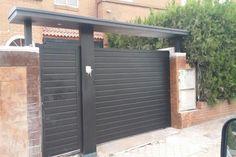 Resultado de imagen de puertas de entrada chalet