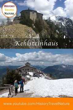 The Eagles Nest (German: Kehlsteinhaus) - Berchtesgaden Area - Bavaria - Germany The Eagles, Eagle Nest, Bavaria Germany, Mount Everest, Nature, Travel, Fun Places To Go, Road Trip Destinations, Mountains