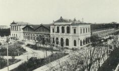 Staatsbahnhof, later Ostbahnhof, 10th district. Built 1867 - 70. Demolished in 1956.