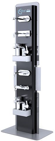product display showcase rack design dyson dyson inspiration board pinterest display. Black Bedroom Furniture Sets. Home Design Ideas