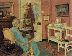 Early Morning Tea  EDWARD LE BAS, R.A. (1904-1966)