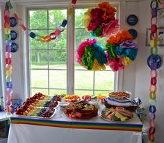 Pike's Place: Story's Fifth Birthday Party! {Rainbow Party}