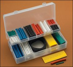 171-Piece Shrink-Tubing Kit - Woodworking